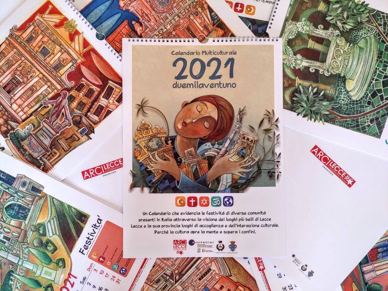 """Il calendario multireligioso di Arci """"per un anno di pace"""""""