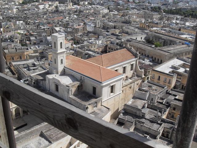 """Fruizione del Campanile del Duomo e vista di Lecce dall'alto: il progetto """"Up"""" di Artwork"""