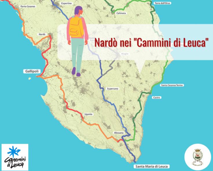 """Turismo lento ed ecosostenibile, Nardò nel tracciato dei """"Cammini di Leuca"""""""