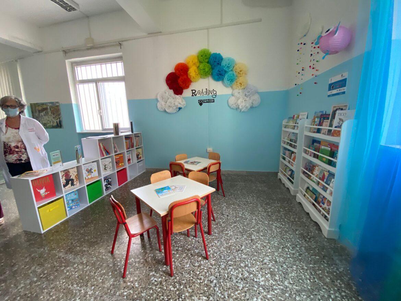 """""""La biblioteca va a scuola"""", allestimenti in corso. Tollemeto: """"Contribuiamo alla maturazione dei più piccoli"""""""