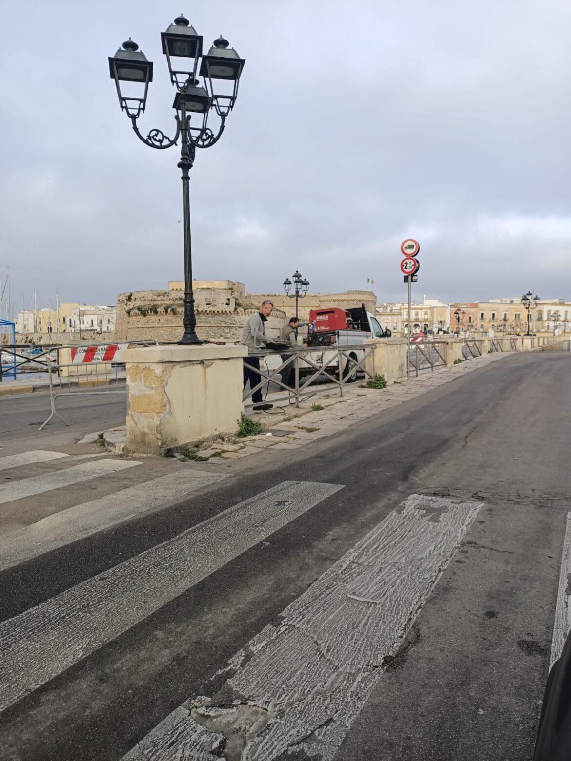 Ponte seicentesco di Gallipoli, al via i lavori di manutenzione