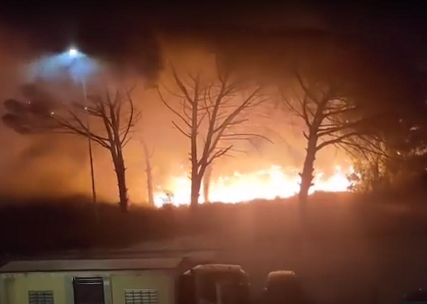 """[video] – Incendi, torna l'allarme. Capoccia (Conapo): """"Inammissibile non aver realizzato l'opera di pulizia"""""""