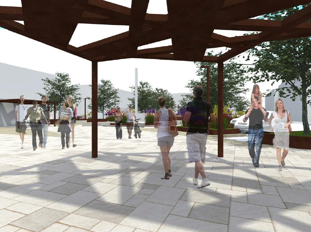 Piazza Umberto I, progetto di restyling da 700mila euro: verde, giochi e parcheggi