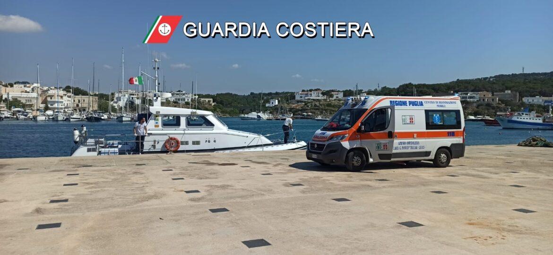 Malore per un marittimo imbarcato su un peschereccio, intervento della Guardia Costiera
