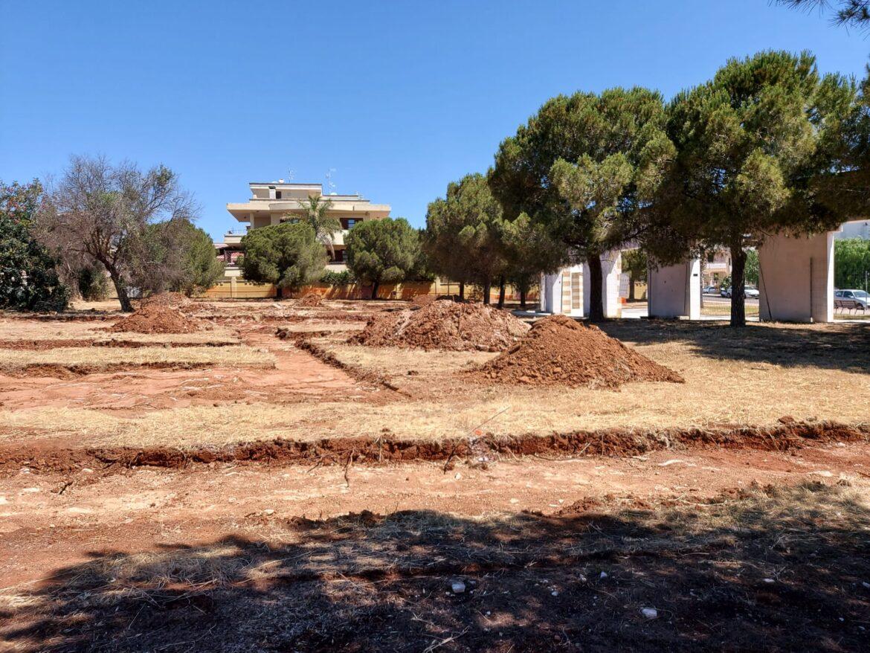 Nuovo cantiere a Gallipoli, al via l'intervento di riqualificazione del parco Carlo Alberto Dalla Chiesa