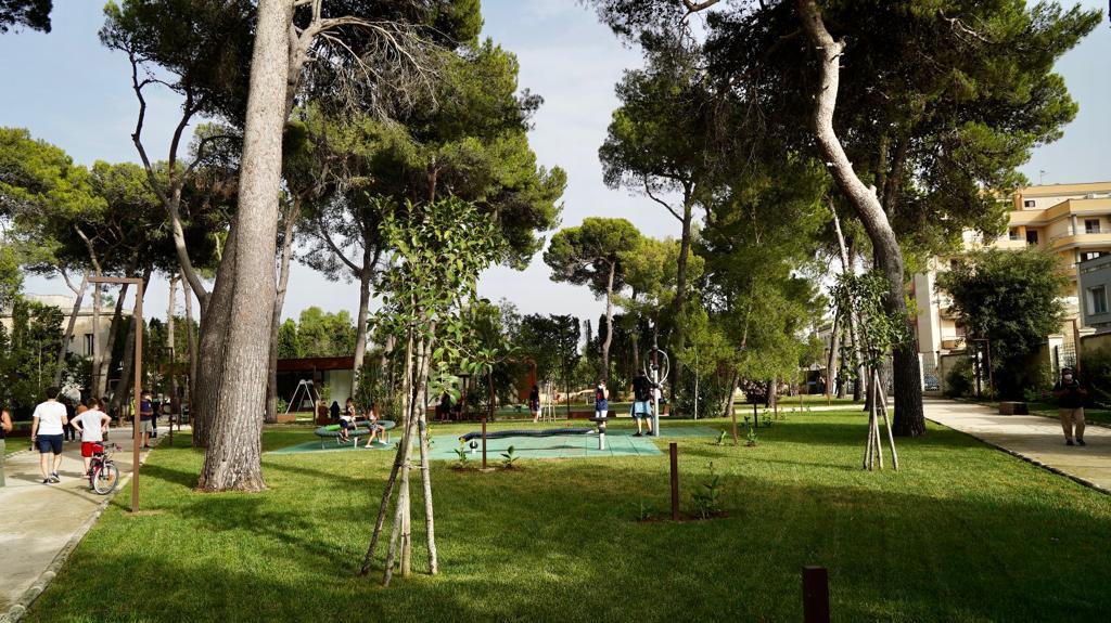 Apertura del Parco del Galateo, un nuovo spazio verde a disposizione del quartiere Leuca e della città