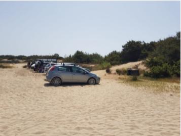 """Parcheggi selvaggi, rifiuti, bivacchi: Legambiente denuncia il """"turismo delirante"""" a Porto Cesareo"""